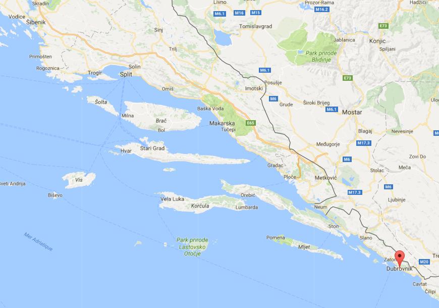 Croisière promotionnelle Croatie